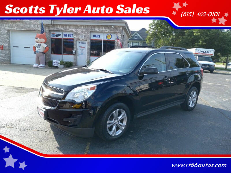 2013 Chevrolet Equinox for sale at Scotts Tyler Auto Sales in Wilmington IL