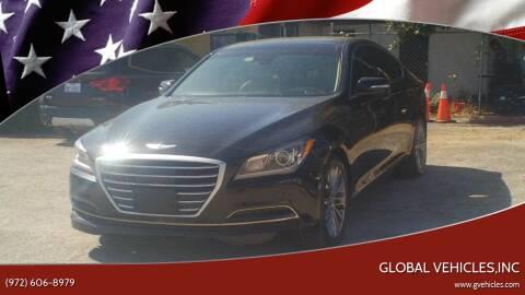 2015 Hyundai Genesis for sale at Global Vehicles,Inc in Irving TX