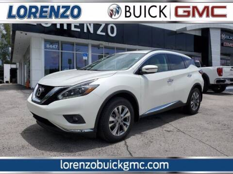2018 Nissan Murano for sale at Lorenzo Buick GMC in Miami FL