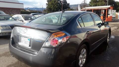 2009 Nissan Altima Hybrid for sale at Goleta Motors in Goleta CA