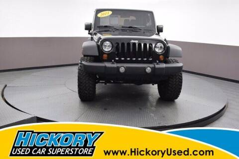 2011 Jeep Wrangler for sale at Hickory Used Car Superstore in Hickory NC