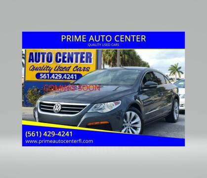 2012 Volkswagen CC for sale at PRIME AUTO CENTER in Palm Springs FL
