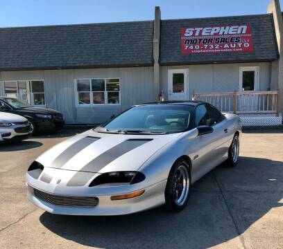 1996 Chevrolet Camaro for sale at Stephen Motor Sales LLC in Caldwell OH