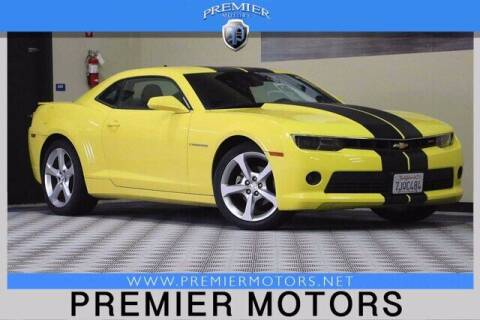 2015 Chevrolet Camaro for sale at Premier Motors in Hayward CA