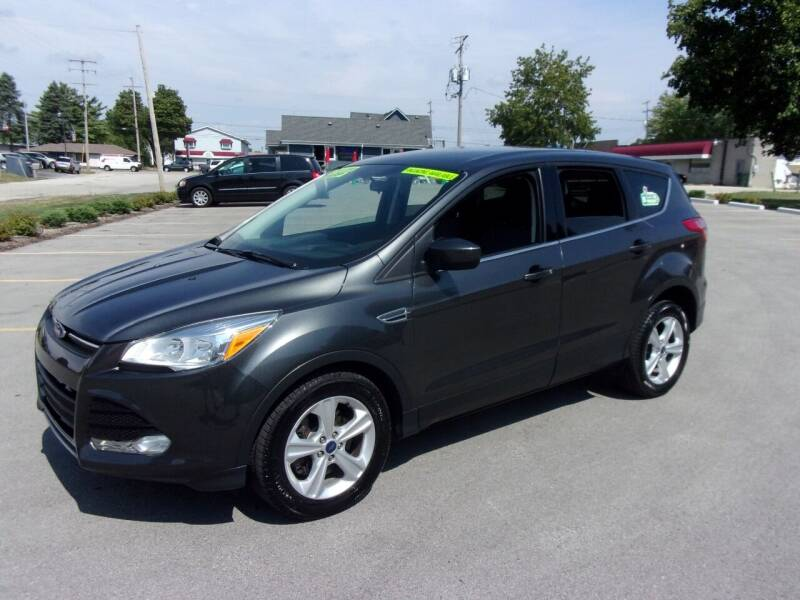 2015 Ford Escape for sale at Ideal Auto Sales, Inc. in Waukesha WI
