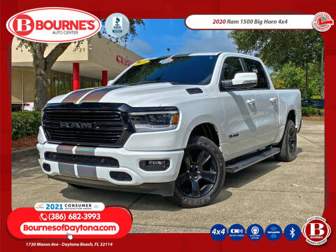 2020 RAM Ram Pickup 1500 for sale at Bourne's Auto Center in Daytona Beach FL