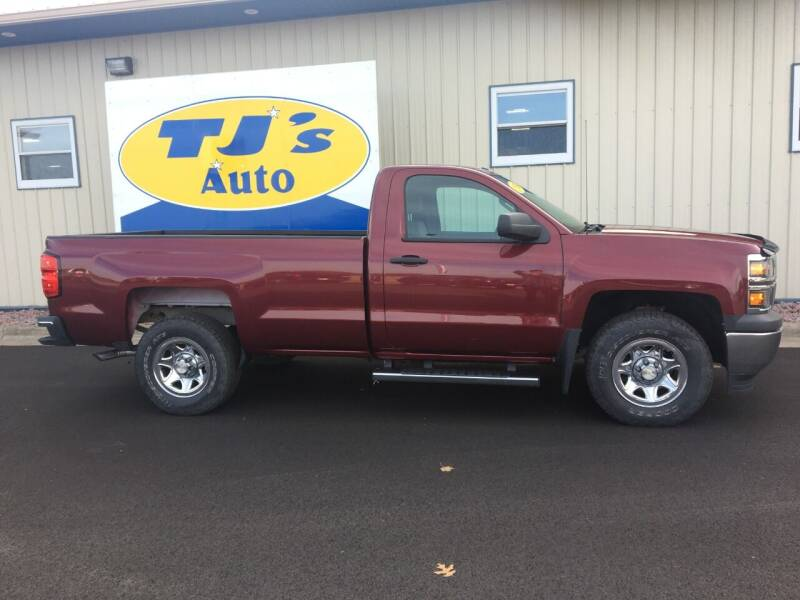 2014 Chevrolet Silverado 1500 4x4 Work Truck 2dr Regular Cab 8 ft. LB w/2WT - Wisconsin Rapids WI