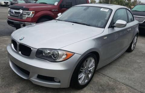 2011 BMW 1 Series for sale at R & R Motors in Queensbury NY