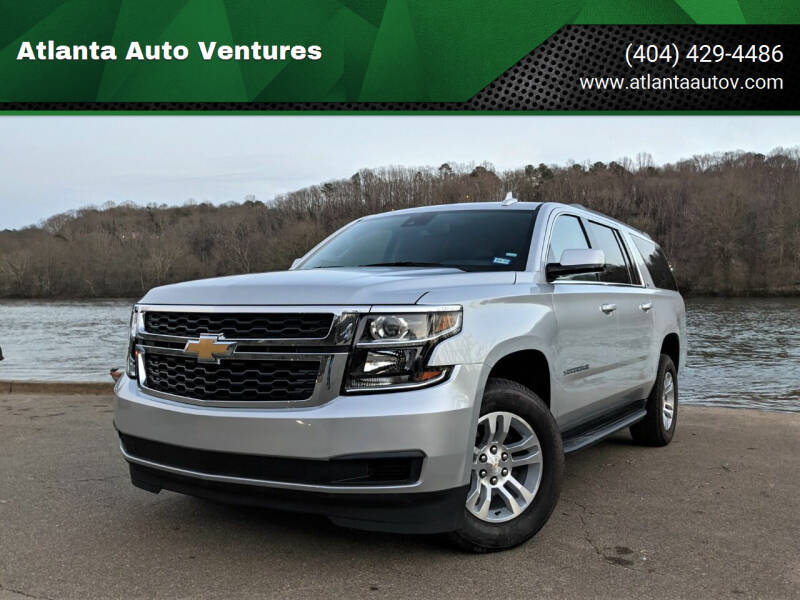 2020 Chevrolet Suburban for sale at Atlanta Auto Ventures in Roswell GA