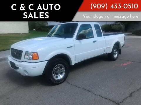 2003 Ford Ranger for sale at C & C Auto Sales in Colton CA