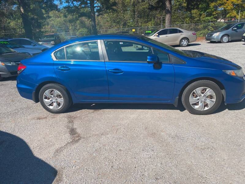 2013 Honda Civic for sale at Super Wheels-N-Deals in Memphis TN