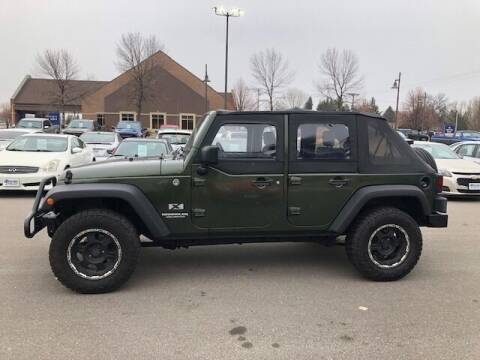 2009 Jeep Wrangler Unlimited for sale at ROSSTEN AUTO SALES in Grand Forks ND