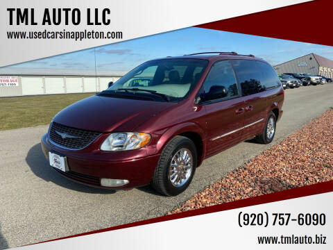 2002 Chrysler Town and Country for sale at TML AUTO LLC in Appleton WI
