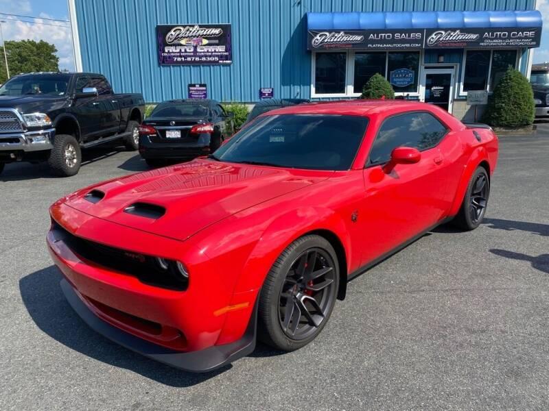 2019 Dodge Challenger for sale at Platinum Auto in Abington MA