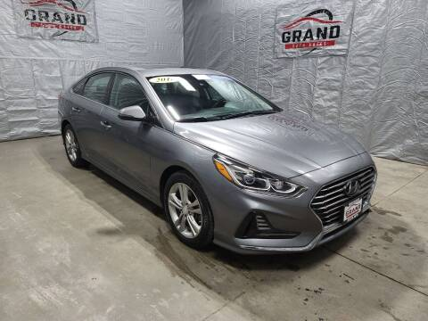 2018 Hyundai Sonata for sale at GRAND AUTO SALES in Grand Island NE