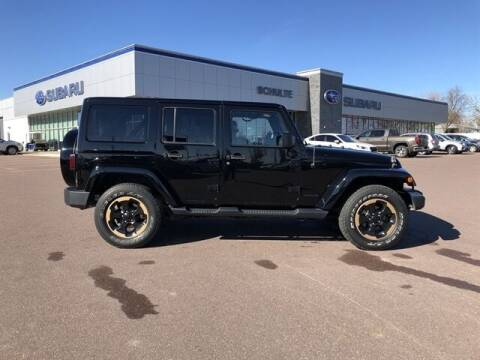 2014 Jeep Wrangler Unlimited for sale at Schulte Subaru in Sioux Falls SD