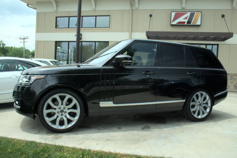 2016 Land Rover Range Rover for sale at Auto Assets in Powell OH