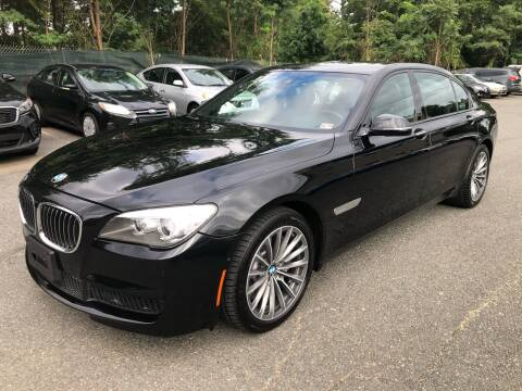 2013 BMW 7 Series for sale at Dream Auto Group in Dumfries VA