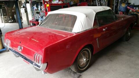 1966 Ford Mustang for sale at CLASSIC MOTOR SPORTS in Winters TX