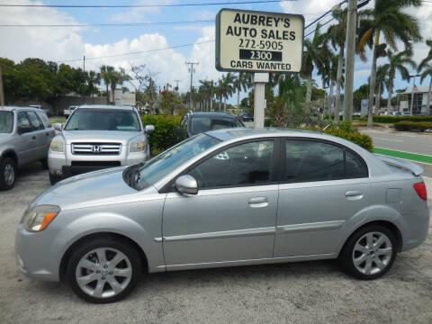 2011 Kia Rio for sale at Aubrey's Auto Sales in Delray Beach FL