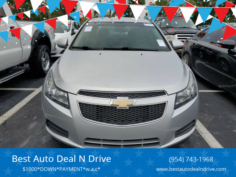 2014 Chevrolet Cruze for sale at Best Auto Deal N Drive in Hollywood FL