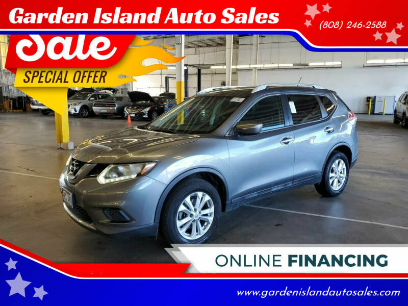 2015 Nissan Rogue for sale at Garden Island Auto Sales in Lihue HI