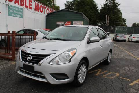 2018 Nissan Versa for sale at AFFORDABLE MOTORS INC in Winston Salem NC