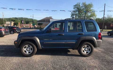 2003 Jeep Liberty for sale at VAUGHN'S USED CARS in Guin AL