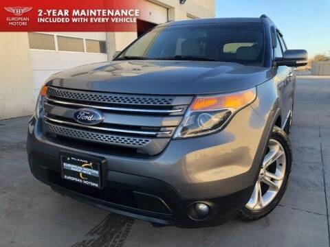 2013 Ford Explorer for sale at European Motors Inc in Plano TX
