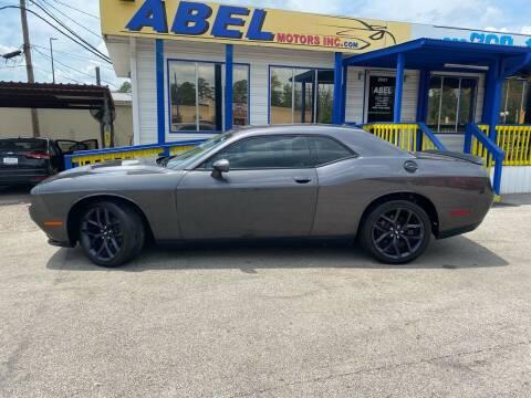 2019 Dodge Challenger for sale at Abel Motors, Inc. in Conroe TX