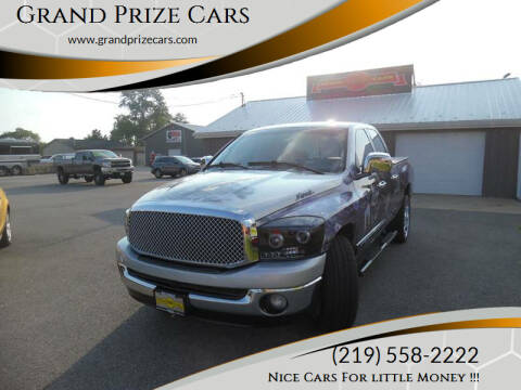 2007 Dodge Ram Pickup 1500 for sale at Grand Prize Cars in Cedar Lake IN