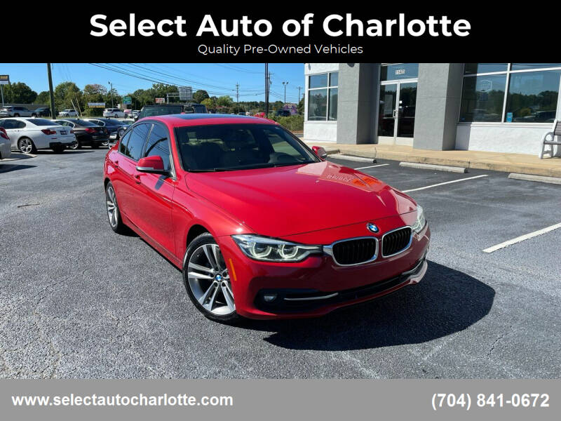 2016 BMW 3 Series for sale at Select Auto of Charlotte in Matthews NC