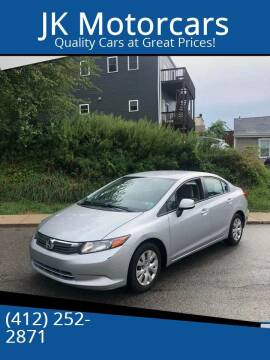 2012 Honda Civic for sale at JK Motor Cars in Pittsburgh PA