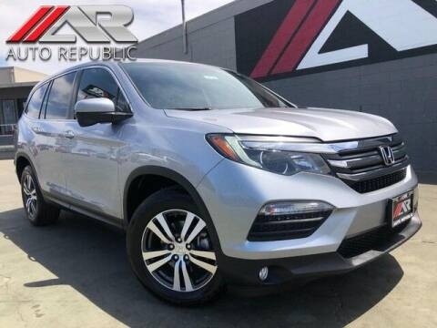 2018 Honda Pilot for sale at Auto Republic Fullerton in Fullerton CA
