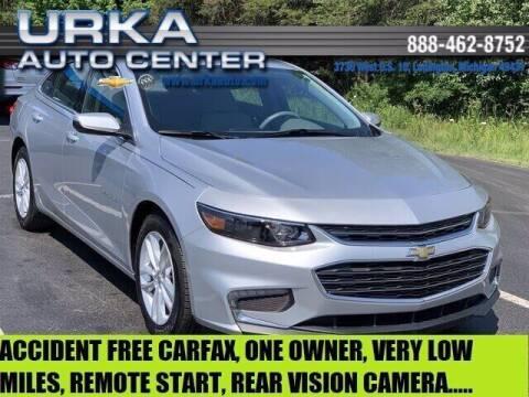 2018 Chevrolet Malibu for sale at Urka Auto Center in Ludington MI