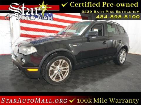 2007 BMW X3 for sale at STAR AUTO MALL 512 in Bethlehem PA