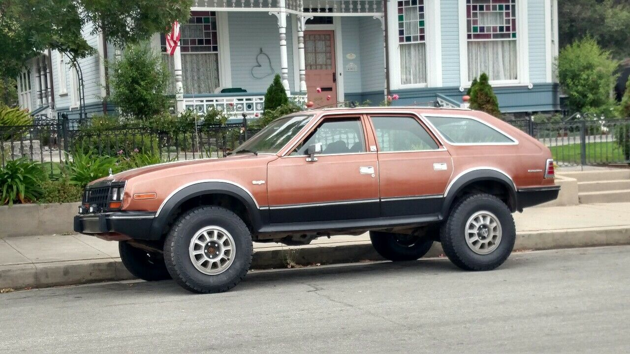 1983 AMC EAGLE 4X4 WAGON