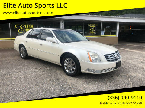 2009 Cadillac DTS for sale at Elite Auto Sports LLC in Wilkesboro NC