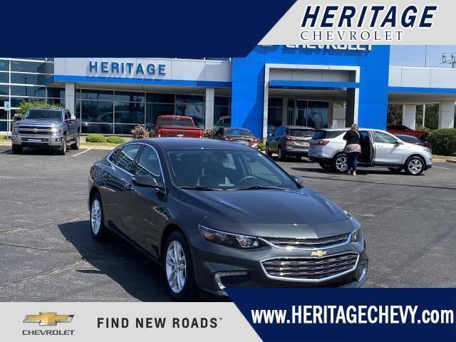 2018 Chevrolet Malibu for sale at HERITAGE CHEVROLET INC in Creek MI