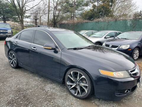 2008 Acura TSX for sale at M & M Auto Brokers in Chantilly VA