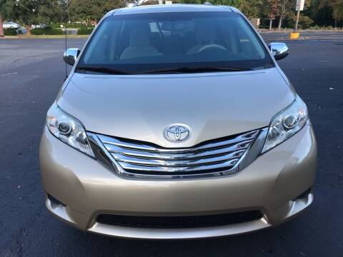 2013 Toyota Sienna for sale at Eastern Auto Sales NC in Charlotte NC