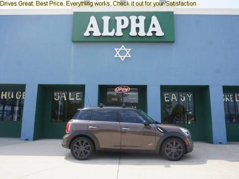 2011 MINI Cooper Countryman for sale at ALPHA AUTOMOBILE SALES, LLC in Lafayette LA