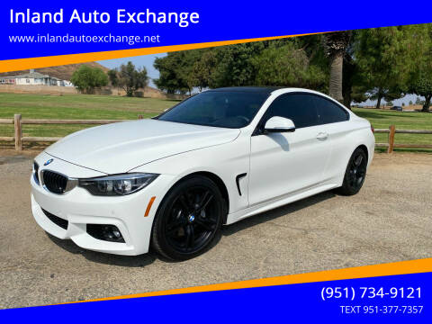 2018 BMW 4 Series for sale at Inland Auto Exchange in Norco CA
