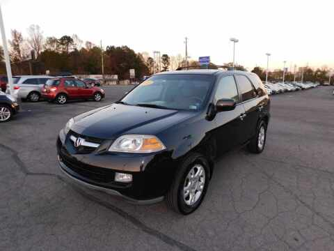2005 Acura MDX for sale at Paniagua Auto Mall in Dalton GA