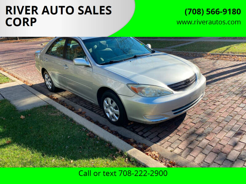 2004 Toyota Camry for sale at RIVER AUTO SALES CORP in Maywood IL