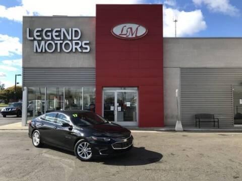 2017 Chevrolet Malibu for sale at Legend Motors of Detroit - Legend Motors of Ferndale in Ferndale MI