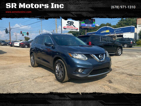 2016 Nissan Rogue for sale at SR Motors Inc in Gainesville GA