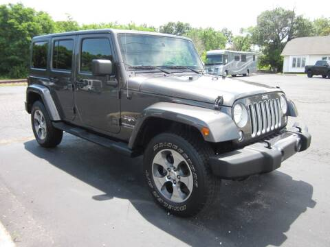 2018 Jeep Wrangler JK Unlimited for sale at JANSEN'S AUTO SALES MIDWEST TOPPERS & ACCESSORIES in Effingham IL