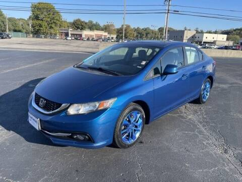 2013 Honda Civic for sale at MATHEWS FORD in Marion OH