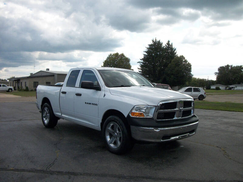 2012 RAM Ram Pickup 1500 for sale at USED CAR FACTORY in Janesville WI